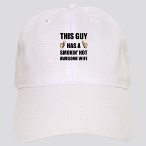 This Guy Awesome Hot Wife Baseball Cap