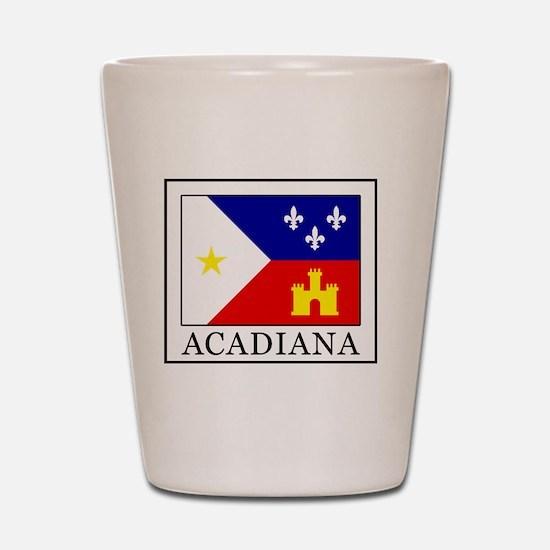 Acadiana Shot Glass
