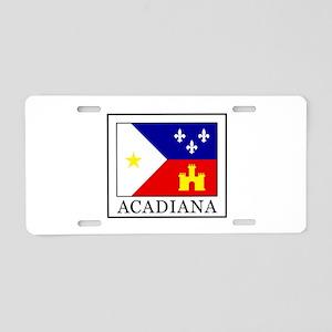 Acadiana Aluminum License Plate