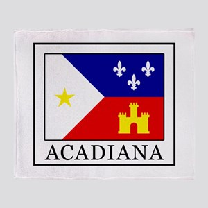 Acadiana Throw Blanket