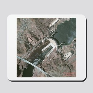 Discover the World: Hoover Dam Mousepad
