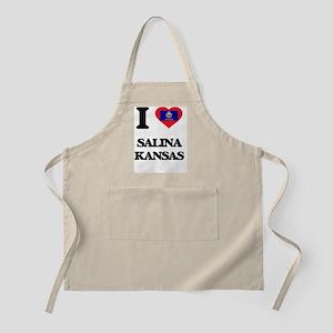 I love Salina Kansas Apron