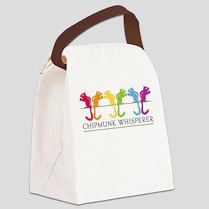 Chipmunk Whisperer Canvas Lunch Bag