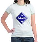 Judaism Jr. Ringer T-shirt