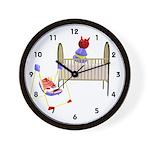 Baby Bed Wall Clock
