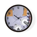 Nanofactory Wall Clock