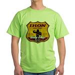 BODY SHOP SIGN Green T-Shirt