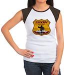 BODY SHOP SIGN Women's Cap Sleeve T-Shirt