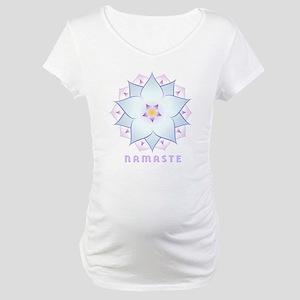 3-namaste-4 Maternity T-Shirt