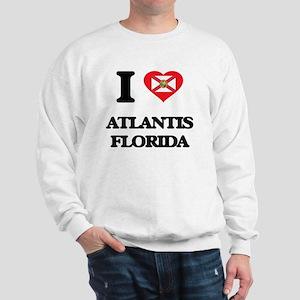 I love Atlantis Florida Sweatshirt