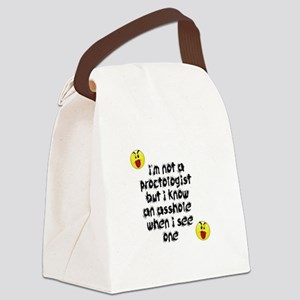 adult humor Canvas Lunch Bag
