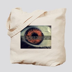 Controlling the FM monster© Tote Bag