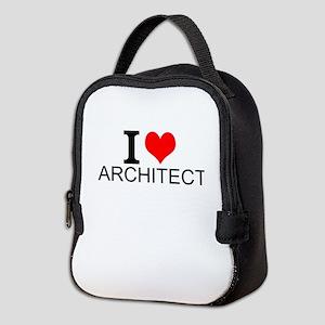 I Love Architecture Neoprene Lunch Bag