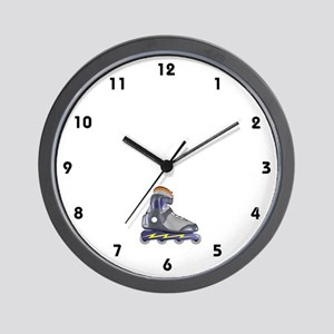Inline Skate Wall Clock