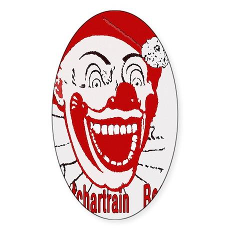 Pontchartrain Beach Oval Sticker