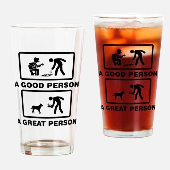 Presa Canario Drinking Glass