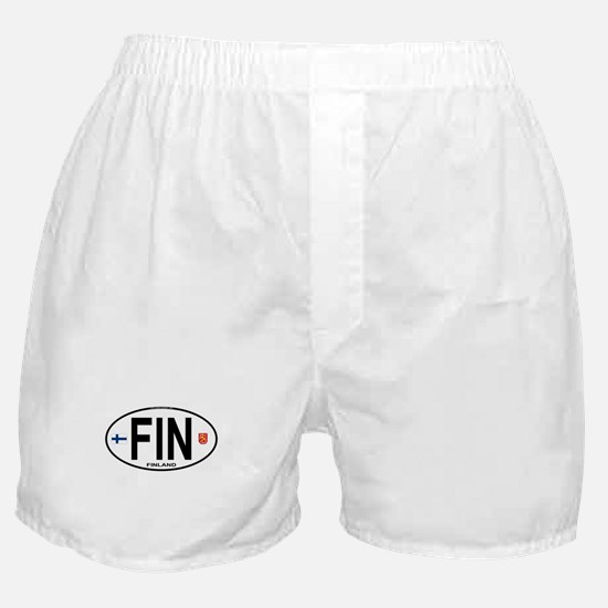 Finland Euro Oval Boxer Shorts