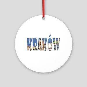Krakow Round Ornament