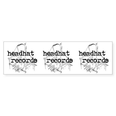 bumperstickerheadhat Bumper Sticker