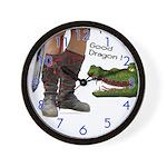 Good Dragon Wall Clock