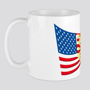 Hot Rod Flag Mug