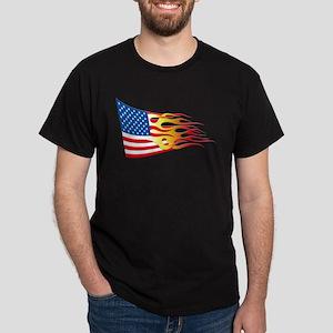 Hot Rod Flag Dark T-Shirt