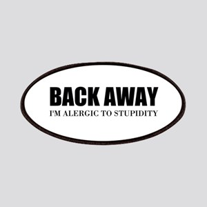 Back Away Patch