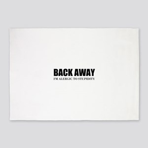 Back Away 5'x7'Area Rug
