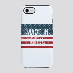 Made in Springfield, Minnesota iPhone 7 Tough Case