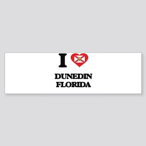 I love Dunedin Florida Bumper Sticker