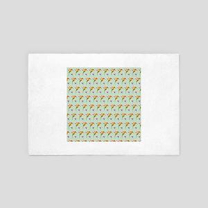 Repeating Hummingbirds 4' x 6' Rug