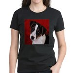 JRT Puppy Ink Sketch Women's Dark T-Shirt