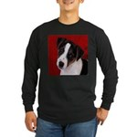 JRT Puppy Ink Sketch Long Sleeve Dark T-Shirt