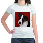 JRT Puppy Ink Sketch Jr. Ringer T-Shirt