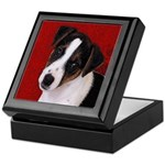 JRT Puppy Ink Sketch Keepsake Box