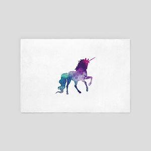 Super Nova Unicorn 4' x 6' Rug