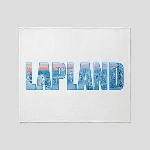 Lapland Throw Blanket