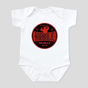 RETRO MUSCLE LOGO Infant Bodysuit