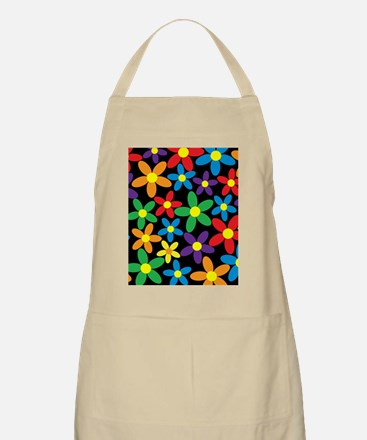 Flowers Colorful Apron