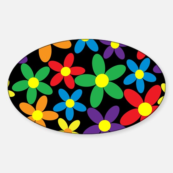 Flowers Colorful Decal
