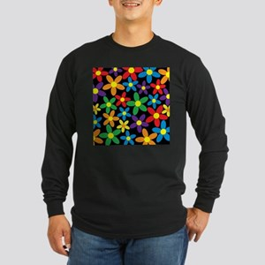 Flowers Colorful Long Sleeve T-Shirt