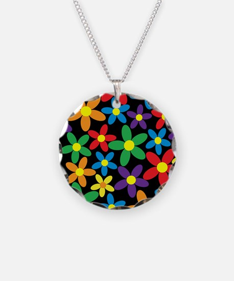 Flowers Colorful Necklace