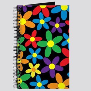 Flowers Colorful Journal