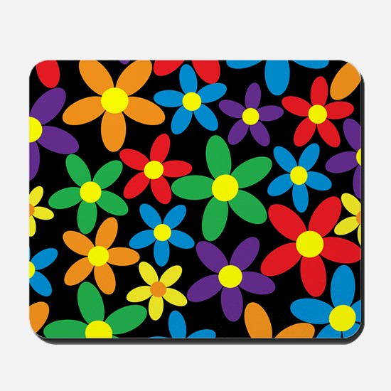 Flowers Colorful Mousepad