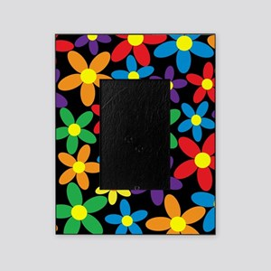 Flowers Colorful Picture Frame