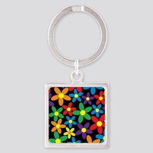 Flowers Colorful Keychains