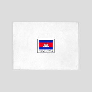 Cambodia 5'x7'Area Rug