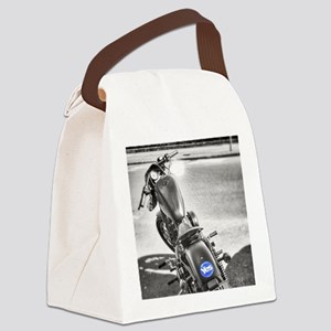 yes motorcycle Canvas Lunch Bag