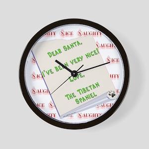 Tibbie Nice Wall Clock