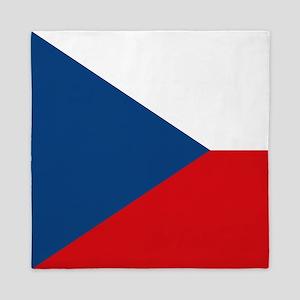 Czech Republic Flag Queen Duvet